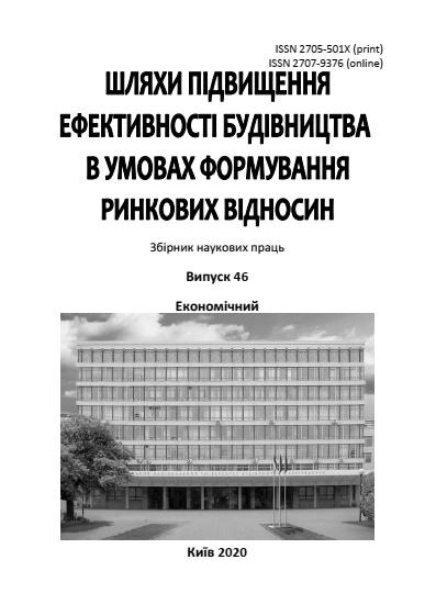 View No. 46 (2020): Ways to Improve Construction Efficiency (Economics)